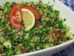 أكلة تونسية، تبولة بالكسكسي