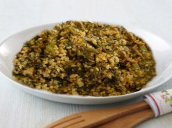 أكلة تونسية، ملثوث بالسباس