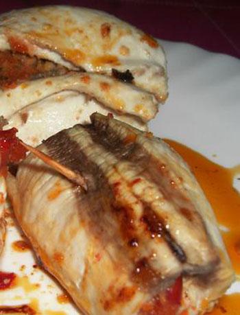 أكلة تونسية، سمك القطاط أو السفن المحشي