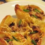 أكلة تونسية، مقرونة ببوش محشية في الفرن
