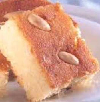 أكلة تونسية، هريسة سميد و لوز