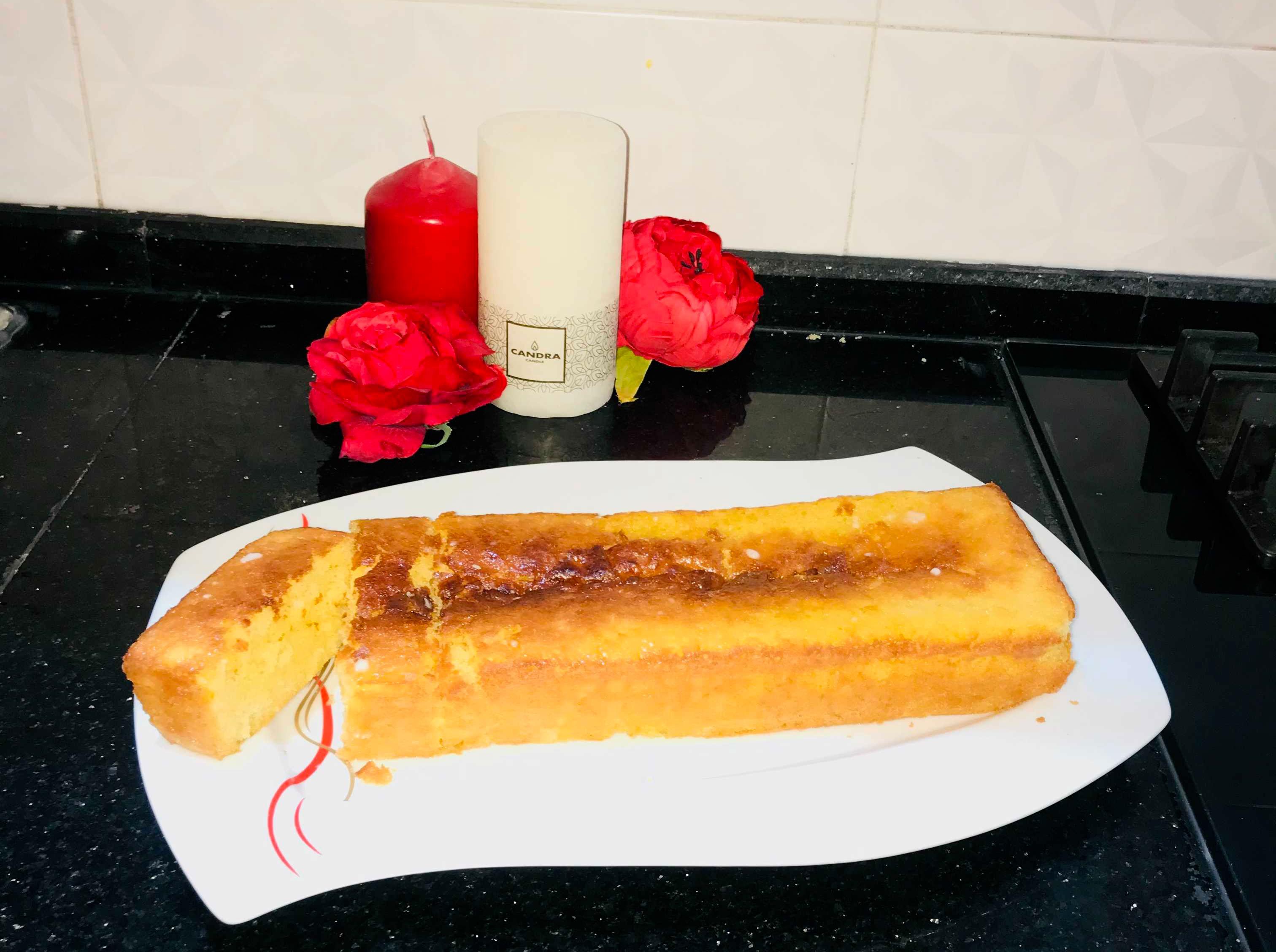 خبزة برتقال أكلة تونسية